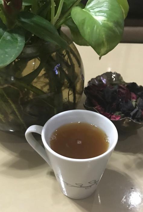 Lemongrass herbal infusion